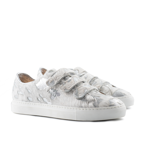8006 Low Top Velcro Sneaker - Moon