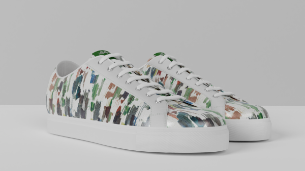 8011 Low Top - Arty White
