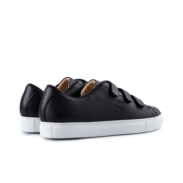 8006 Low Top Velcro Sneaker - All-Black