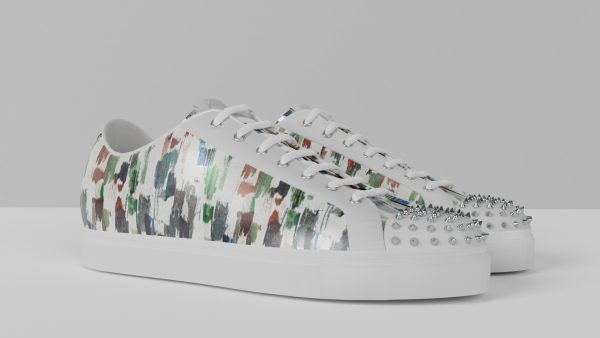 8012 Low Top - Arty White